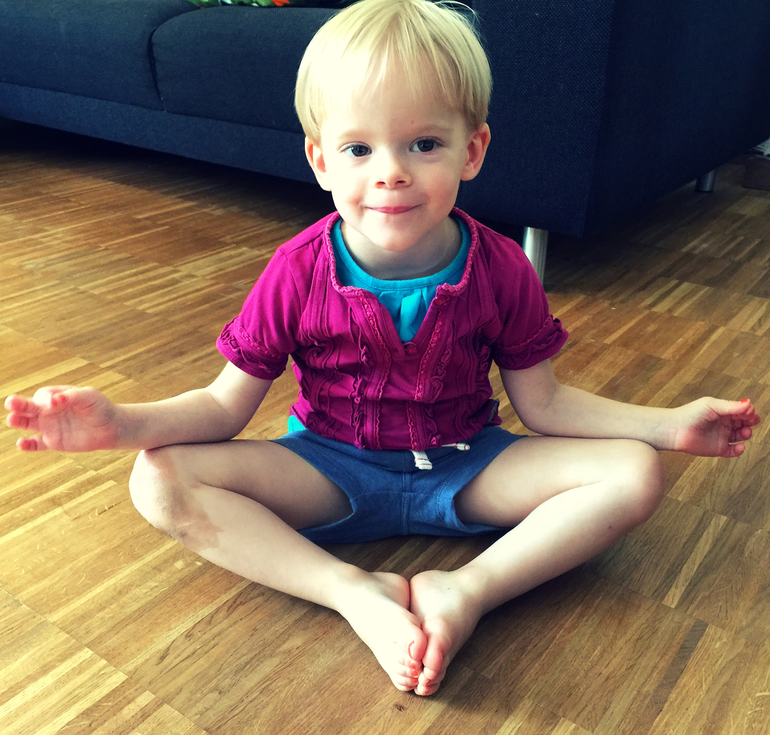 Kinder yoga The Yoga Bar