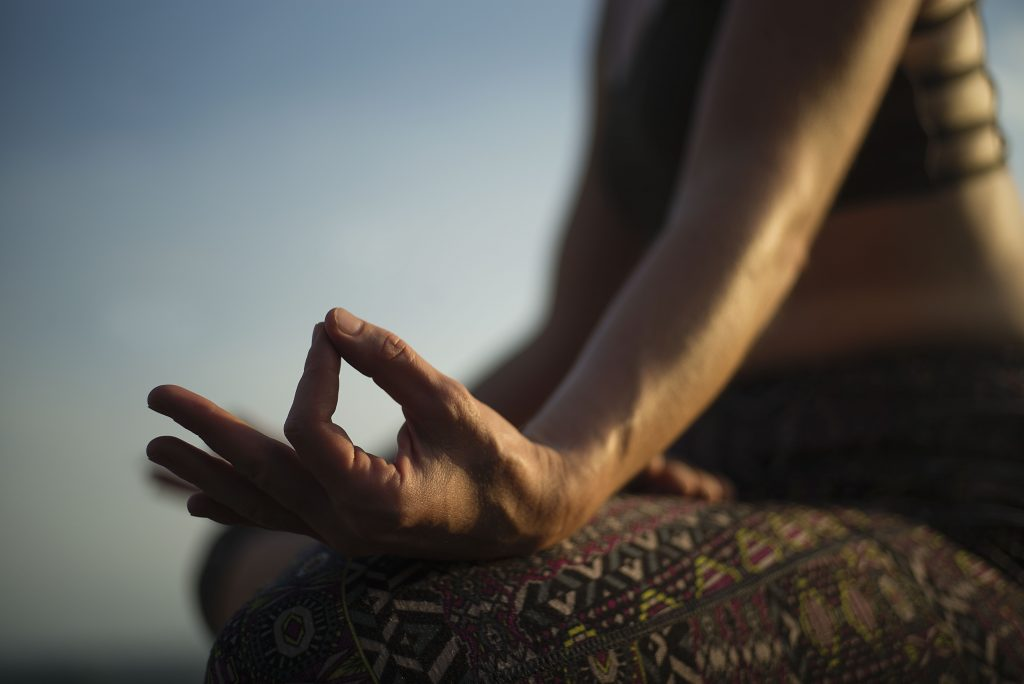 chin mudra the yoga bar
